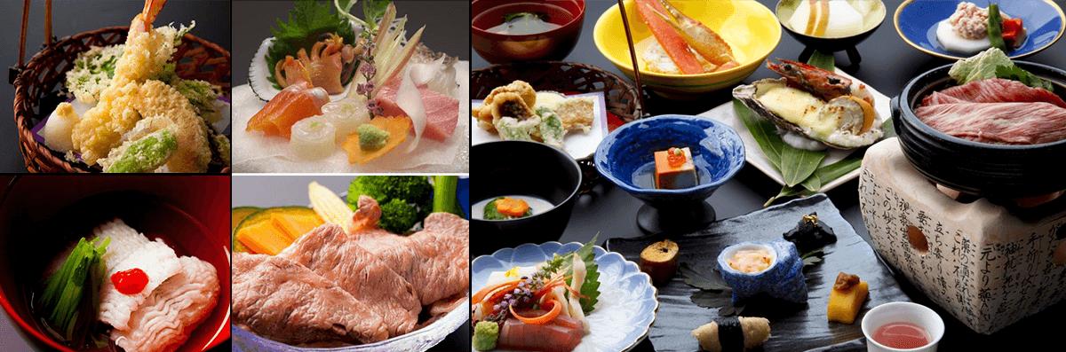 季古里溫泉飯店「飛驒の味」 旬菜の會席料理~夜御膳